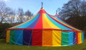 Medium Tents & Hill Top Tents - small and medium sized tents and big tops